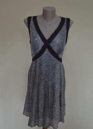 Красивое брендовое нежное платье из батиста