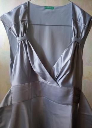 Офигенная блуза-платье от benetton