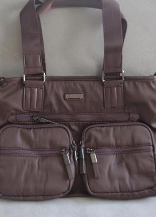 Мужская сумка valentino rudy коричневая 31096-3