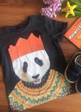 Классная трикотажная футболка,реглан,кофта для парнишки george 4-5 лет.