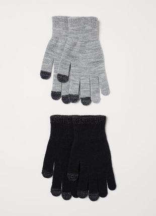 Комплект перчатки девочке 1 4 лет h&m