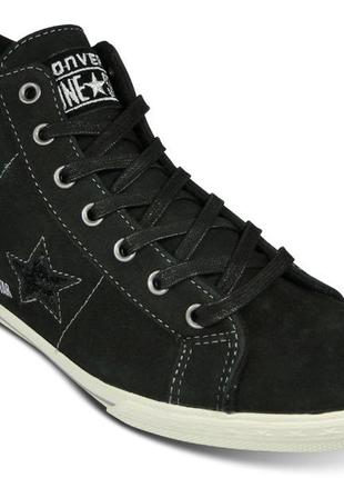 Converse оригинальные кожаные кеды ботинки 37