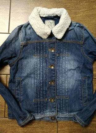 Джинсовый пиджак #курточка