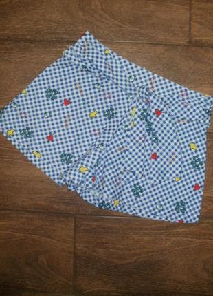 Стильная летняя юбка / шорты на 9-10 лет