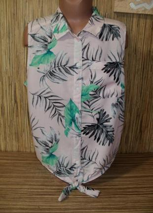 Летняя блуза / рубашка на 13-14 лет