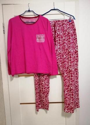 Мягчайшая пижама р. xxl nutmeg primark
