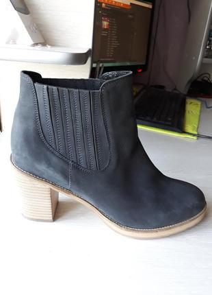 Кожаные ботинки asos размер 42