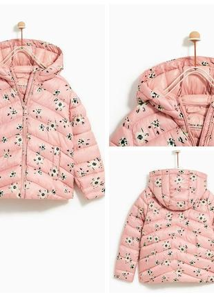 Куртка для дівчаток від zara іспанія