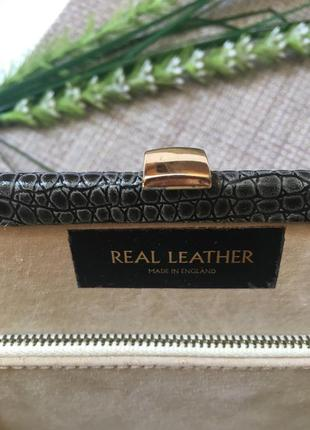 Сумка клатч real leather1