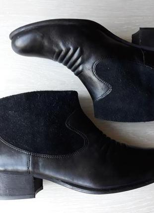 Ботильоны кожаные clarks размер 37