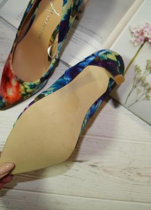 Atmosphere. красивые туфли лодочки в цветочный принт2