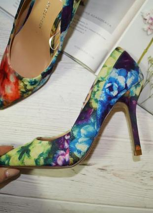 Atmosphere. красивые туфли лодочки в цветочный принт3