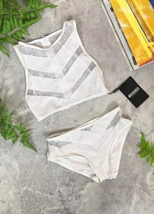 Стильный купальник для смелой девушки  sw1906001  missguided