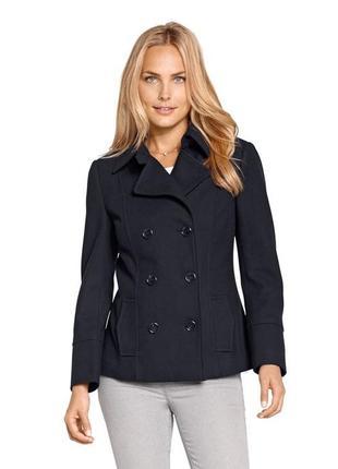Фирменное шерстяное пальто от tcm tchibo. германия. оригинал!