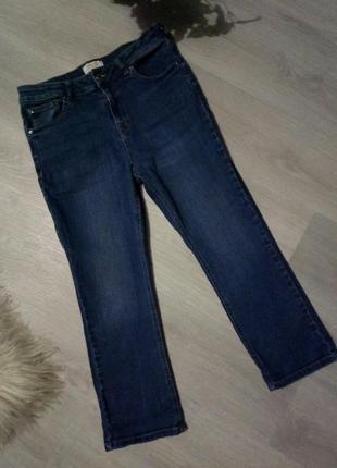 Укороченные джинсы брюки 😘f&f