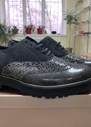 Туфли semler германия оригинал натуральная кожа 38-41