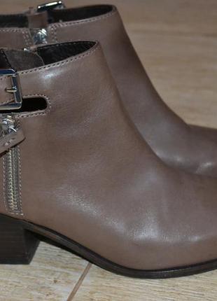 Geox  respira  38р ботильоны ботинки туфли  оригинал. кожаные.