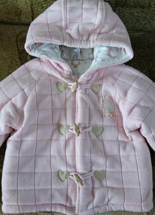 Теплая курточка детская