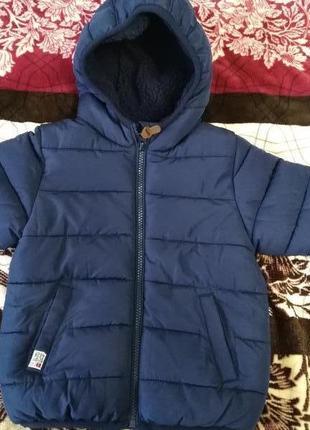 Зимняя куртка next на 1,5-2 года