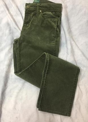 Вельветовые женские штаны ralph lauren