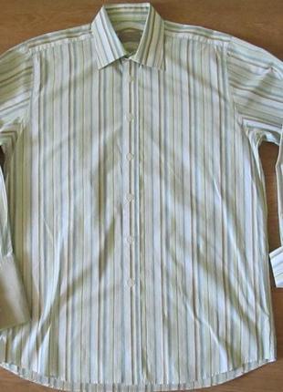 Рубашка под запонки john levis