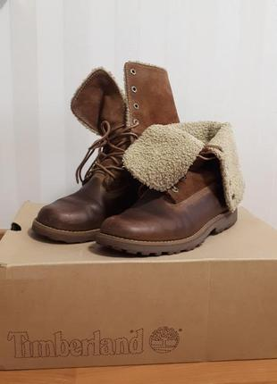 Удобные и очень качественные осенне- весенние ботинки от timberland