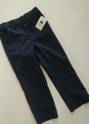Строгие брюки на мальчика 3-4 лет kiabi, france2