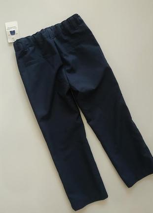 Строгие брюки на мальчика 3-4 лет kiabi, france1