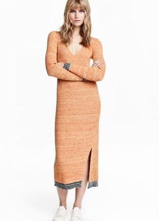 Вязаное платье h&m