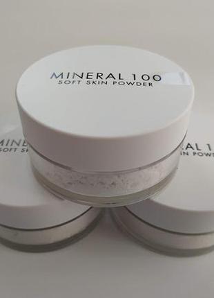 A'pieu mineral 100 soft skin powder минеральная рассыпчатая пудра