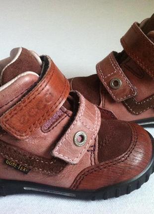 Демисезонные ботинки ecco с мембраной gore-tex размер 21 стелька 13 4ca9b39e31959