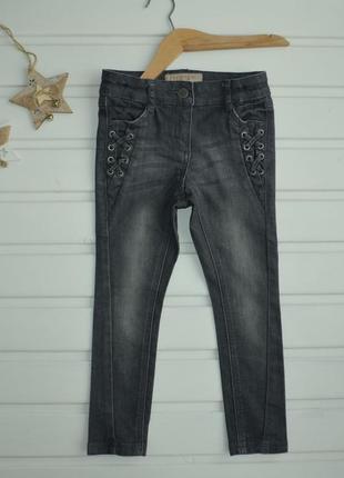 3года, джинсы на девочку,next