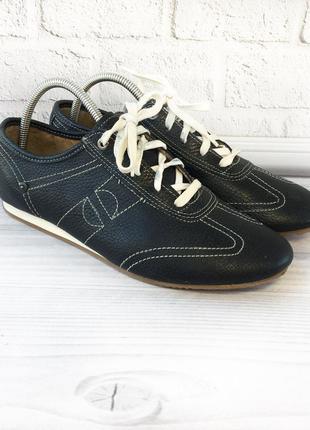 Спортивные туфли klondike 39р 25,5см кожа