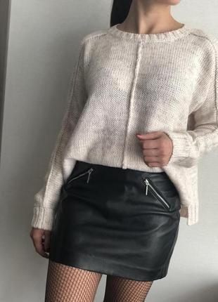 Стильный свитер свитшот джемпер
