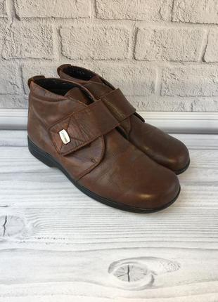 Утепленные ботинки ladi\ysko 39р 25,5см на широкую ногу