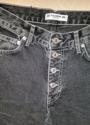Продам женские джинсы бойфренды ( mom ) pull&bear