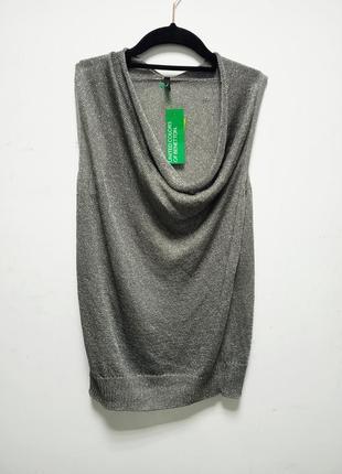 Стильная блузка от benetton, италия