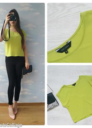 Блуза цвета лайм