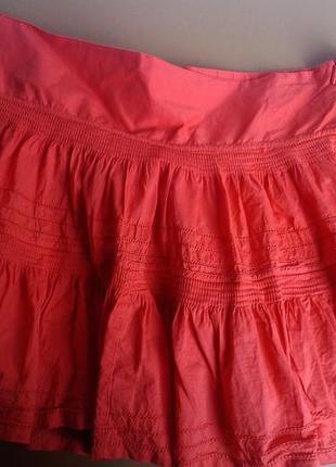 Яркая юбка с воланами debenhams xl