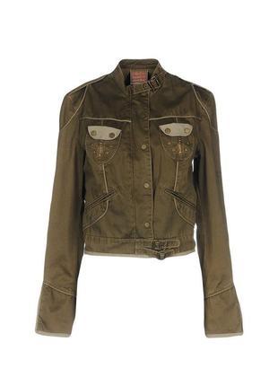 Жакет pinko sunday morning, р.xs. новая джинсовая куртка