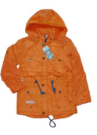 Шикарная деми куртка для мальчика р. 128-158. венгрия