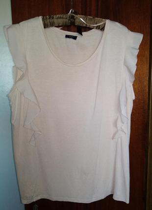 Распродажа!супер блузка натуральная  цвета пудры англия