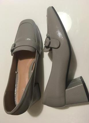 Стильные удобные туфли р.38