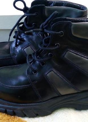 Ботинки 36 р. кожа