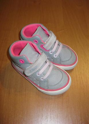 "Кеды,ботинки ""clarks"" размер 5/21."