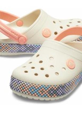 Crocs crocband  оригинал 2 размер кроксы девочке крокс