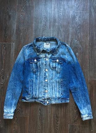 Пиджак джинсовый,куртка denim co р.10