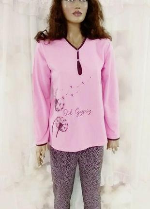 Женская теплая пижама на байке 425294c101d30