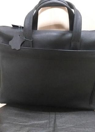 Сумка-портфель из кожи