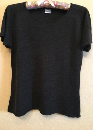 Базовая футболка шерсть мериноса maddison